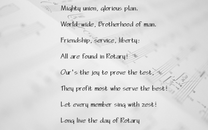 Mighty union, glorious plan.